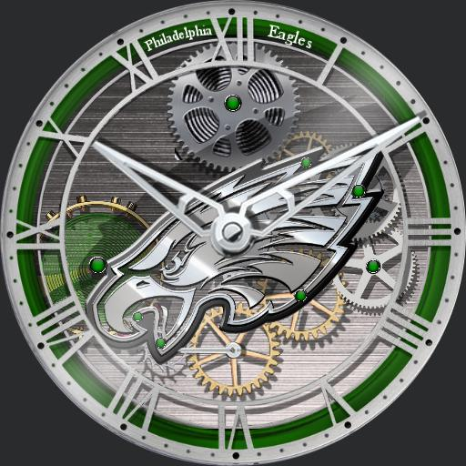 Philadelphia Eagles Skeleton Tourbillon