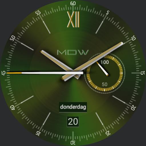 MD Watch Retro Emerald Copy