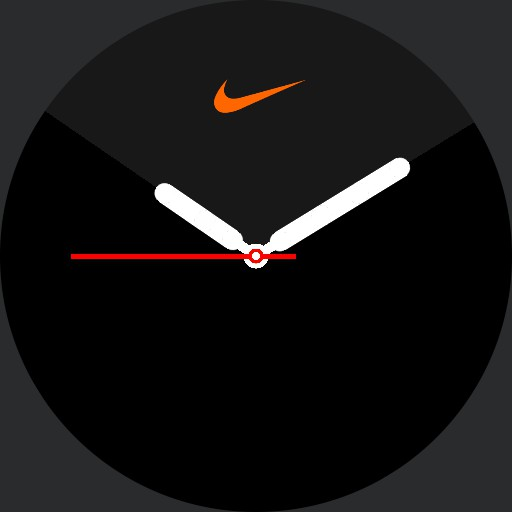 VA Apple Nike Watch Series 5 Amoled with logo