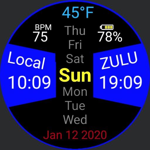 Zulu 2 Blue