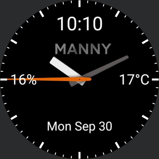 Minimalist Watch Face