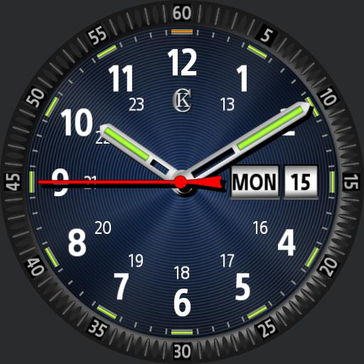 Tritium tubes v2 , Day, date display