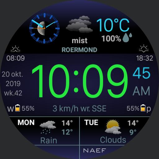 MT weather/ countdown Naef