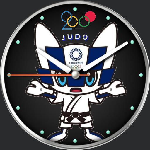 judo mascot  for 2020 olympics