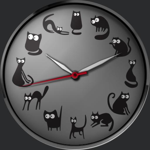 12 Black Cats