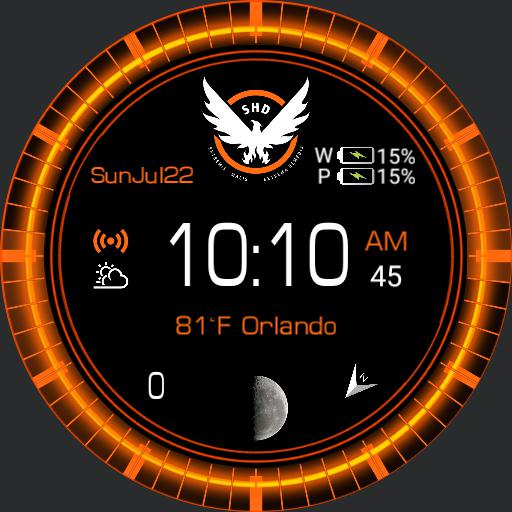 Division Watch Face 24hr