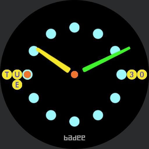 Round Spots Minimal v 1