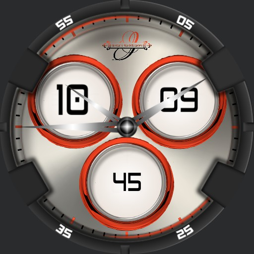 Design 1377 Ucolor 4S. Stopwatch