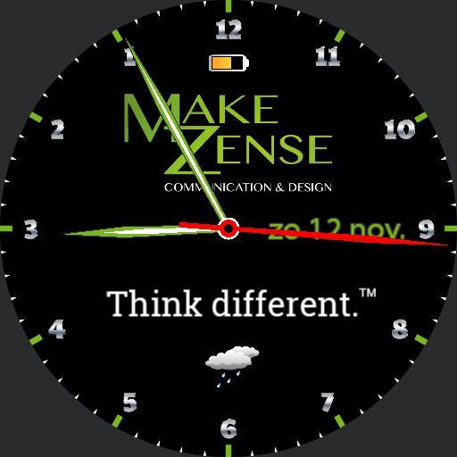 MakeZense think different 2