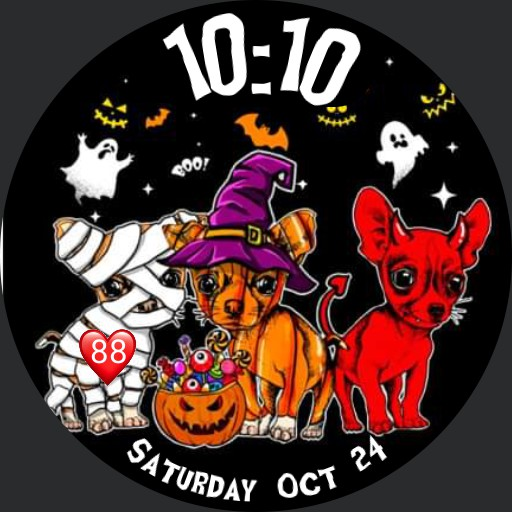 Halloween Chihuahuas Party