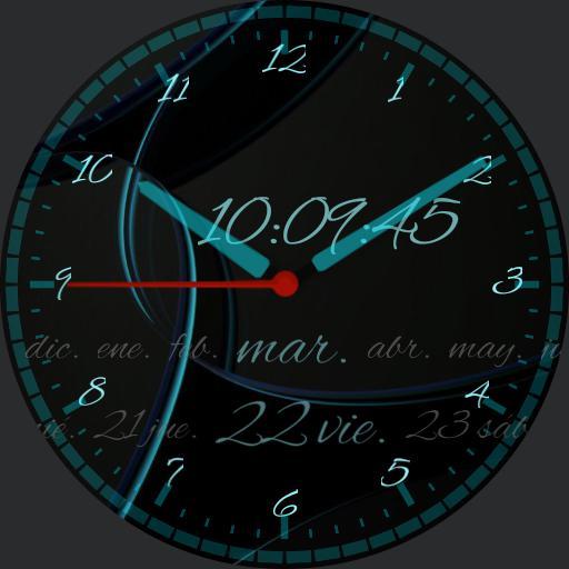 Modern Analogico clock