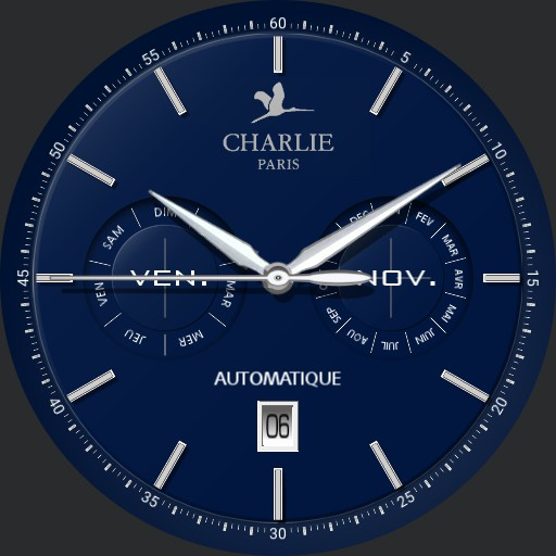 Charlie initial calendrier