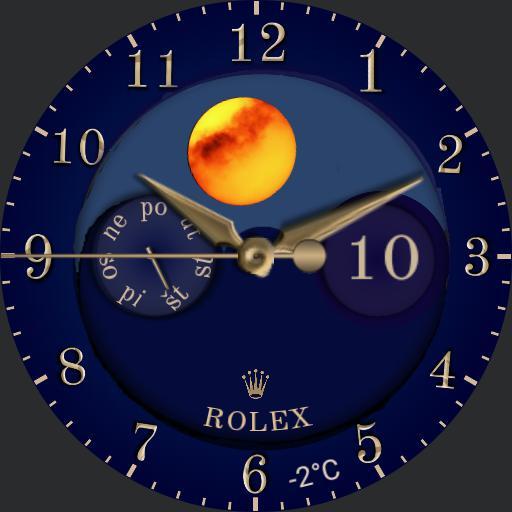 hodinky noc a den