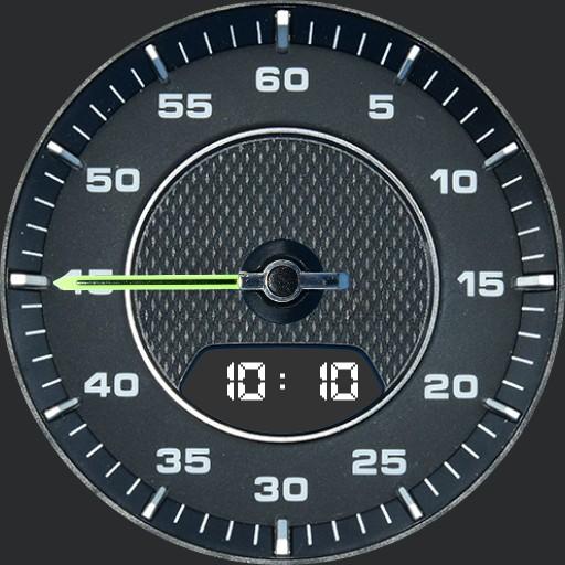 Horloge Porsche Cayenne E-Hybrid