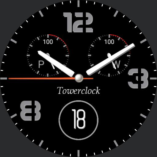 Towerclock sport Color