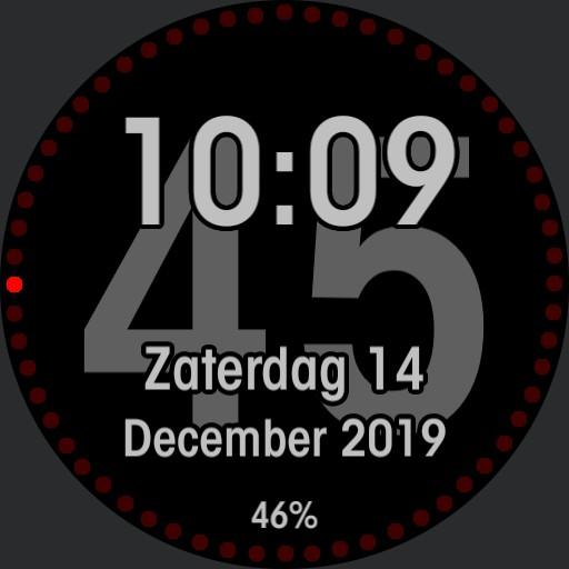 Seconds Clock v1.0