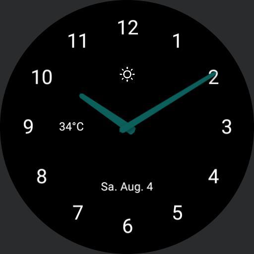 Beautiful minimalistic Watch