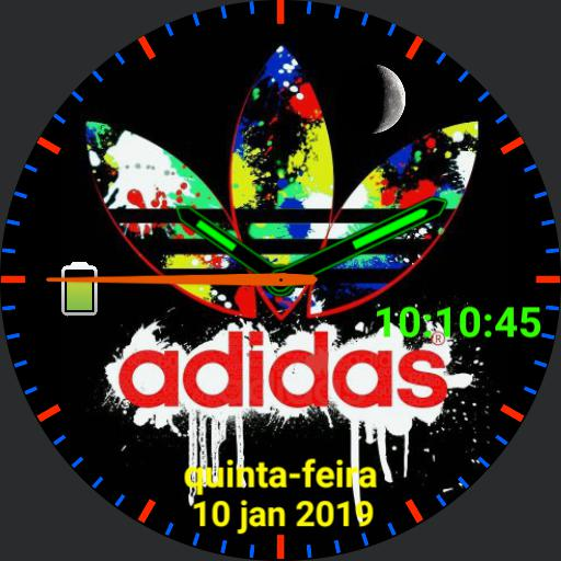 Adidas Colored
