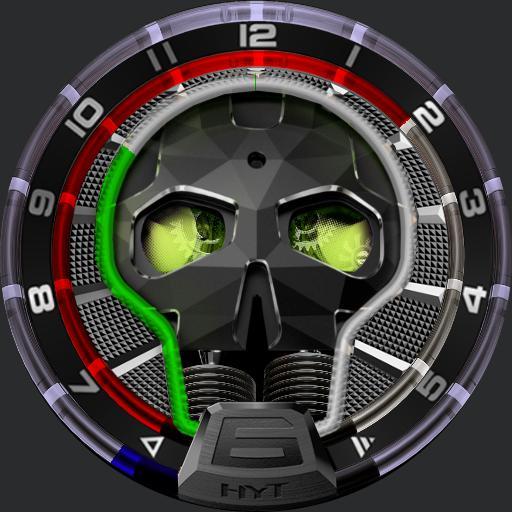 Hyt Watch Skull By Zodrakn