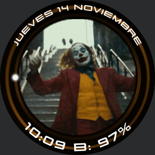 Joker Gif Digital Watch v.2019