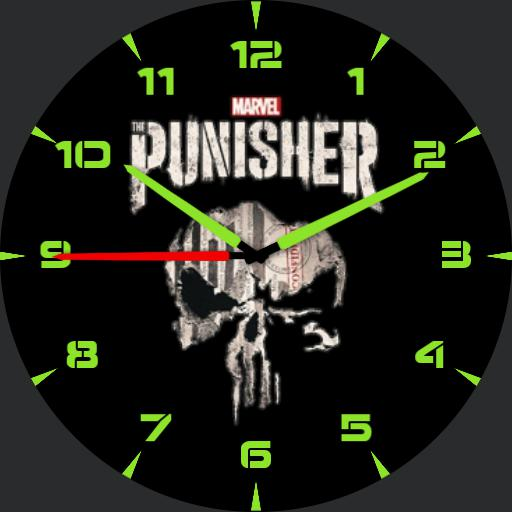 Ludawatch Punisher minimalist edition
