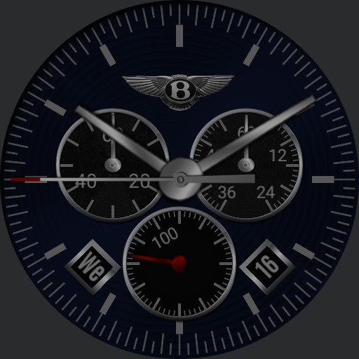 Bentley Custom Blue Mk2 Copy