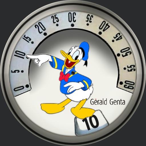 Donald Duck Disney Gerald Genta