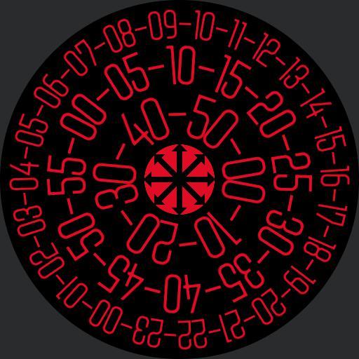 Rotative chaos watch