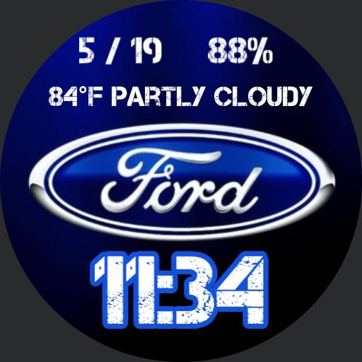 Simple Ford watchface