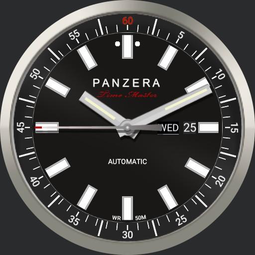 Panzera Time Master  Silver