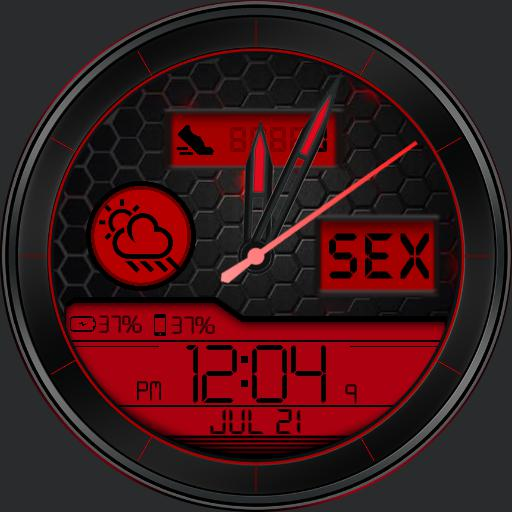 Tecno BX Watch Face RLW