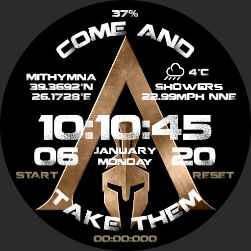 Spartan Odyssey Gold Info
