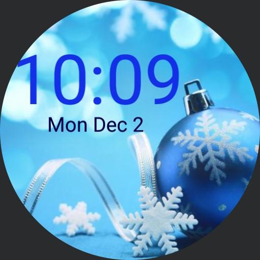 Blue Christmas - plwren