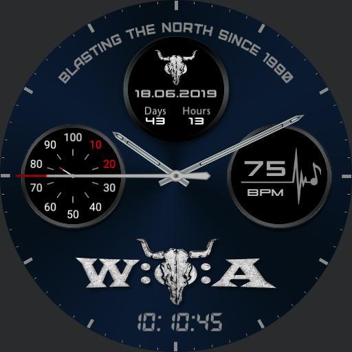 Wacken Countdown Chrono Battery