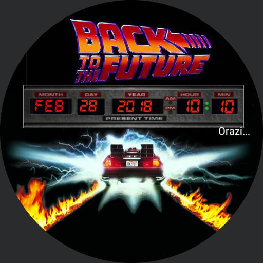 Orazi Back to the future Copy