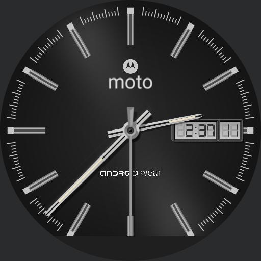 Moto HyperChrome Black