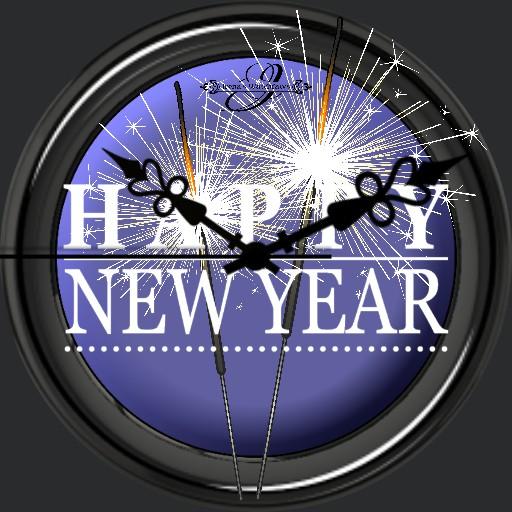 Happy New Year Lila Animation