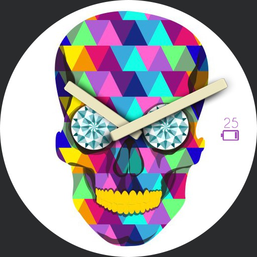 Pop Art Light Skull