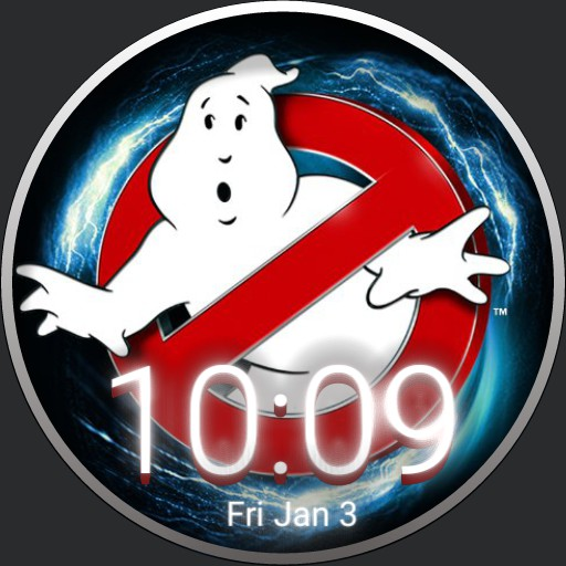 Ghostbusters Electrical Watchface