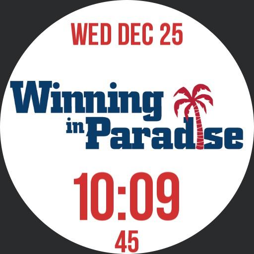 FAU Winning In Paradise Watch Face