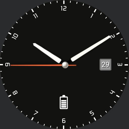 Nspz_73 Ten background colors, highly customizable watch face