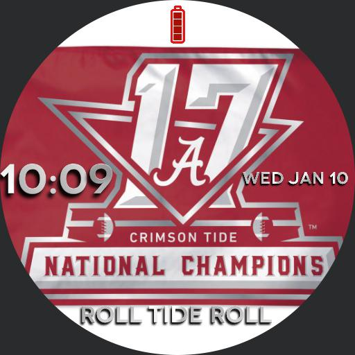 Alabama 17 national championship