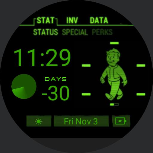 Pedros watch face