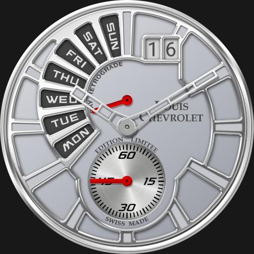 Louis Chevrolet Day Retrograde 5500