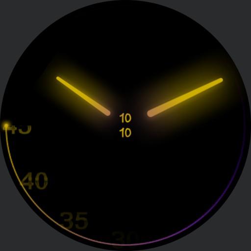 simply clever v3 multicolor Samsung watch 9 Copy