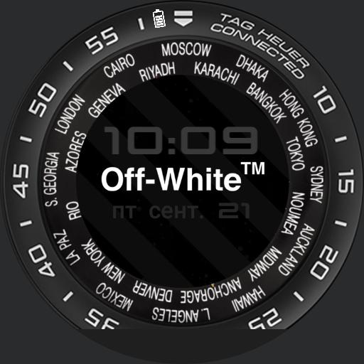 TAG OFF WHITE