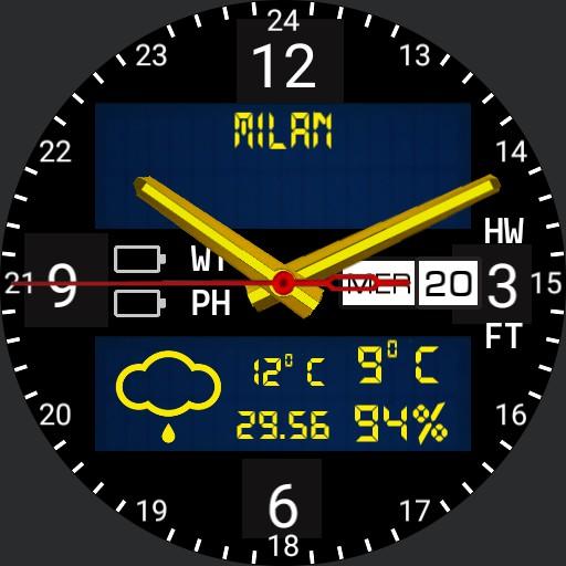 Military Field Watch mod13 hg7an Analog