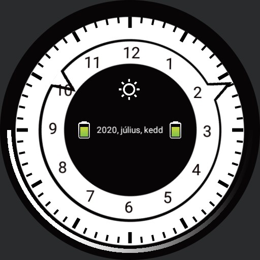Simple Watch for OLED displays