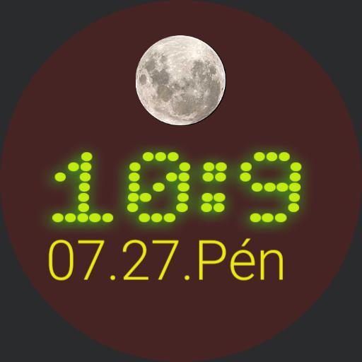 Moon glow 1