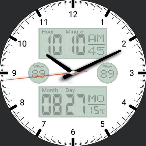 Urban Clock Info 4Color